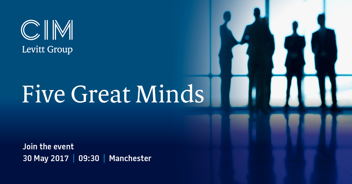 Five Great Minds come to Manchester
