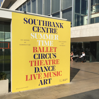 Spotted: Southbank Centre rebrand makes sense of complexity