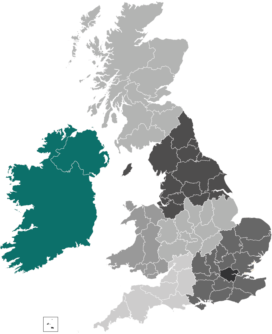 CIM Ireland region